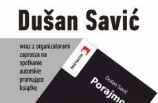 Więcej o: Spotkanie z Dušanem Saviciem