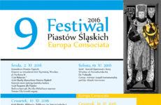 Więcej o: 9 Festiwal Piastów Śląskich Europa Consociata