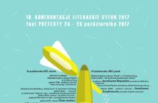 Więcej o: 19. konfrontacje literackie Syfon 2017