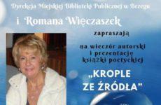 Więcej o: Spotkanie z Romaną Więczaszek