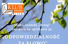 Więcej o: Spotkanie Klubu Literackiego