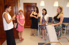 Więcej o: Delegacja z Czeskich Budziejowic w Bibliotece Centralnej