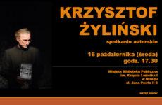 Więcej o: Spotkanie autorskie z Krzysztofem Żylińskim