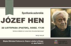Więcej o: Spotkanie autorskie z Józefem Henem