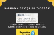 Więcej o: Darmowy dostęp do zasobów EBSCO ebooks