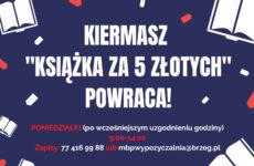 """Więcej o: Kiermasz """"Książka za 5 złotych"""""""